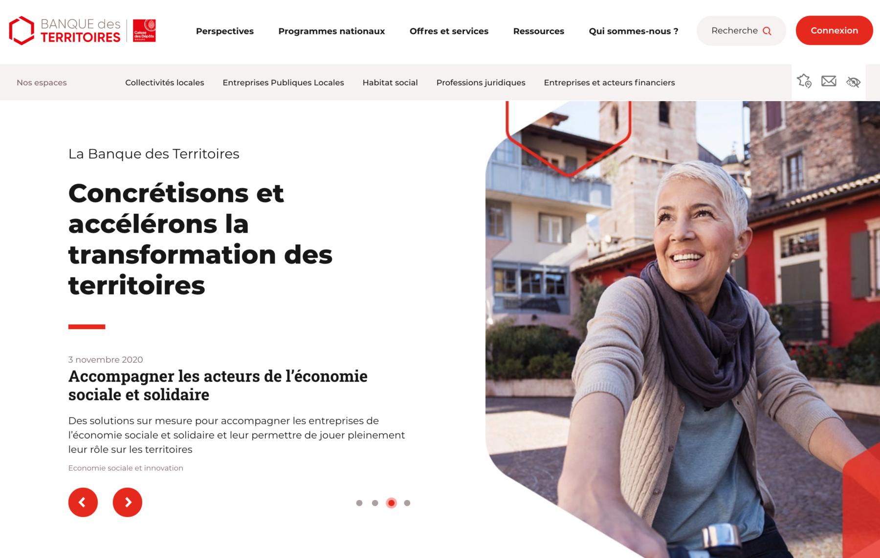 Projet de conseil SEO pour la Banque des Territoires by Digilia