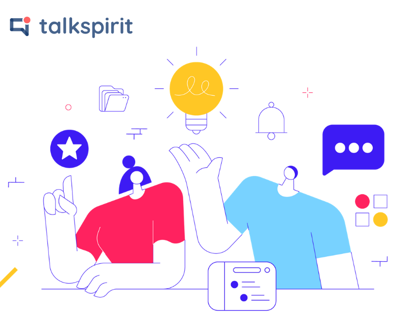 Rédaction web d'un livre blanc et d'une cas client pour Talkspirit by Digilia